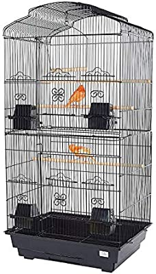 Pet Ting Jaula de pájaros Bluebell, periquitos, Canarios, pinzones ...