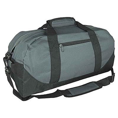 "iEquip 12"" 14"" 18"" 21"" Duffle Bag, Gym, Travel Bag Two Tone"