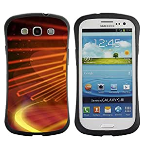 All-Round Hybrid Rubber Case Hard Cover Protective Accessory Gerneration-I Compatible with SAMSUNG GALAXY S3 & I9300 - Digital galaxy