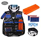 Vest Outdoor Protective Vest Field Clothing Equipment Refill, Padded Chest Protection for Paintball & Airsoft, Tactical Vest Body Armor Perfect for Outdoor Sports Vest