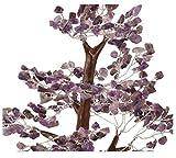 Crocon Amethyst & Turquoise Gemstone Money Tree