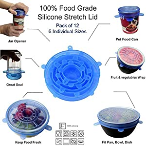 Sweepstakes: Silicone Stretch Lids