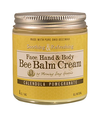 Bee Balm Cream Calendula Pomegranate, 4 oz
