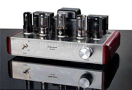 Nobsound 6P6P+6J8P Class A Single-ended Tube Amplifier Hifi DIY Valve AMP 4Wx2 Nobsound