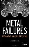 Metal Failures: Mechanisms, Analysis, Prevention