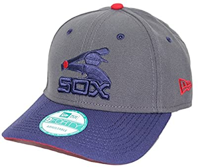 New Era Chicago White Sox 9Forty Cooperstown Classic Adjustable Hat - Graphite