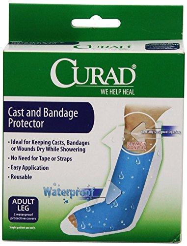 Curad Cast Protector Adult Leg, 2 Count ()