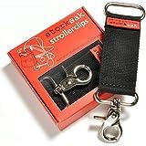 Storksak Nappy Bag Stroller Clip, Black/Silver