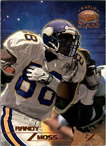 (1998 Topps Stars Bronze #66 Randy Moss Rookie Card Parallel /8799 - NM-MT)