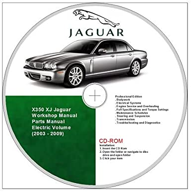 jaguar xj8 x350 workshop and parts manual 2003 2009 amazon co uk rh amazon co uk jaguar xj8 repair manual jaguar x350 owner's manual