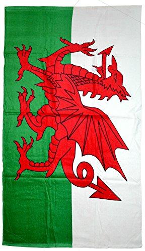 Flag Souvenir Nuovo Towel Bagno Dragon Welsh Tovagliolo Wales 87x150cm Cymru Tovaglietta Beach xpwpSvqH