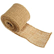 KING DO WAY 5/10/15/30CM X 5M Burlap Roll Craft Premium No-Fray Fabric Roll Eco-Friendly Jute Burlap Fabric