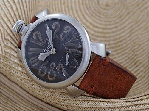 ガガミラノ GAGA MILANO 腕時計 5010.VINTAGE BR/BRベルト レザーベルト [並行輸入品] B00RLRIGQ0