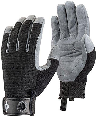 Black Diamond Crag Climbing Gloves, Black, Small