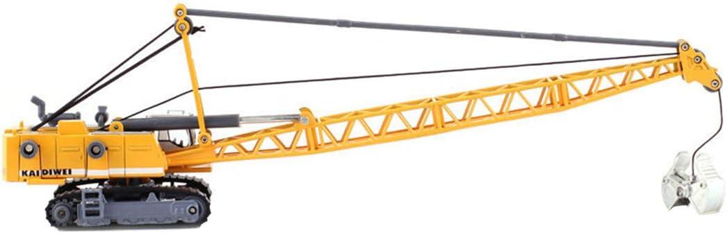 1:87 HO Tower Cable Crane Train Railway Model Scene Decoration Trains Accessories