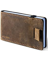 Premium Leather Coin Pouch - HUSKK - Italian Vegetable-Tanned Leather
