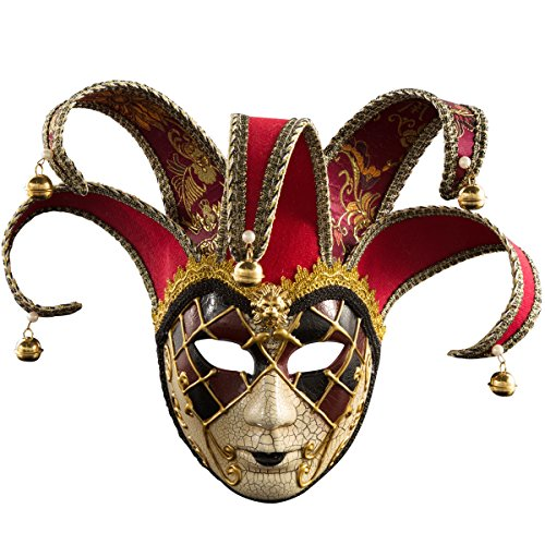 Dancek Halloween Makeup Show Party Masquerade Mask Cosplay Ancient Egyptian Pharaoh -