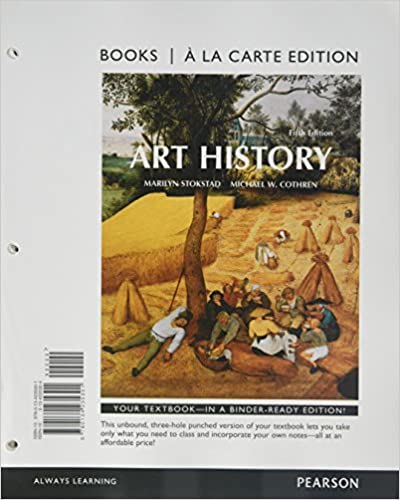 art history books a la carte plus new mylab arts with etext access card package 5 e 5th edition