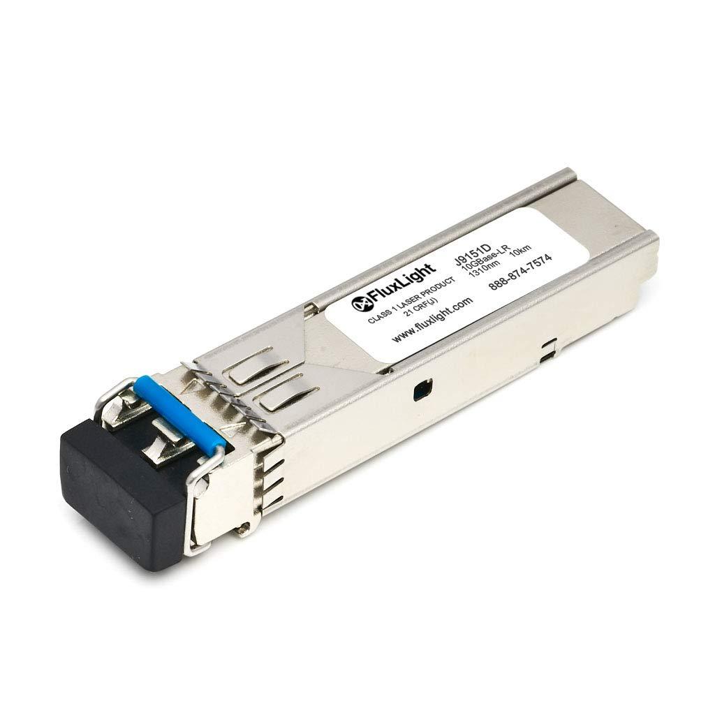 FluxLight Brand Aruba Compatible J9151D 10GBase-LR Optical Transceiver by FluxLight