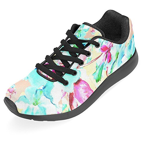 Casual Women Multi Easy Go InterestPrint Lightweight Shoes Sports 8 Walking Running Jogging Running Sneaker for Women's wF1O8