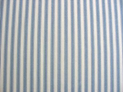 Ticking Fabric Upholstery Fabric Curtain Fabric Drapery Fabric Blue Striped 54