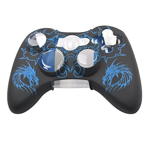 blue xbox 360 controller cover - 3