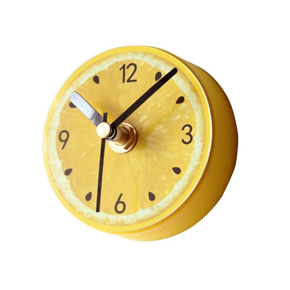 besplore Galaxy磁気時計、壁時計、デスクトップクロック、ブラック ZM-BXZ002-NM-YELLOW B078T6XXGX G5-yellow G5-yellow