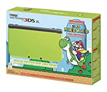 Nintendo New 3DS XL - Lime Green Special Edition [Discontinued] (Renewed)