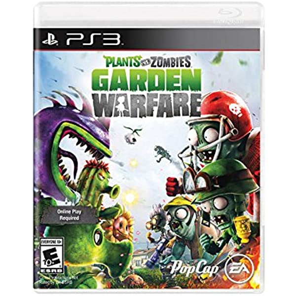 Plants Vs Zombies Garden Warfare Online Play Required Playstation 3 Playstation 3 Computer And Video Games Amazon Ca
