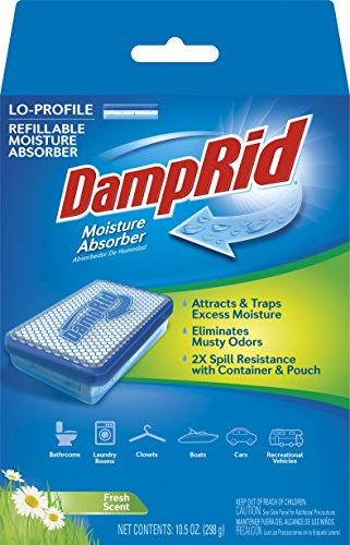 DampRid FG44 Lo-Profile Refillable Moisture Absorber, for sale  Delivered anywhere in USA