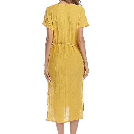 7246a1081c DOGZI Vestidos Mujer Estilo 2018 Plisado Medias Irregulares Verano Long  Vestido De Playa Bohemia Larga Floral