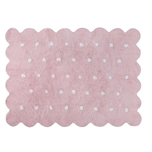 Lorena Canals – Galleta Rosa c-77771 Lavable alfombras