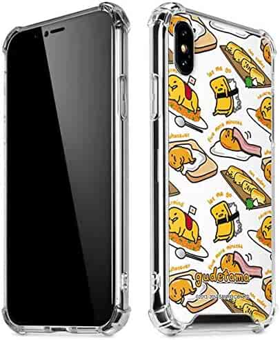 4b00ae794 Skinit Gudetama 5 More Minutes iPhone Xs Max Clear Case - Officially  Licensed Sanrio Phone Case