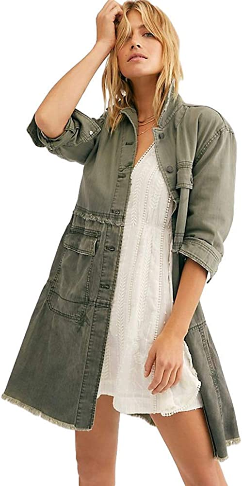 Free People Forever Free Tiered Jacket