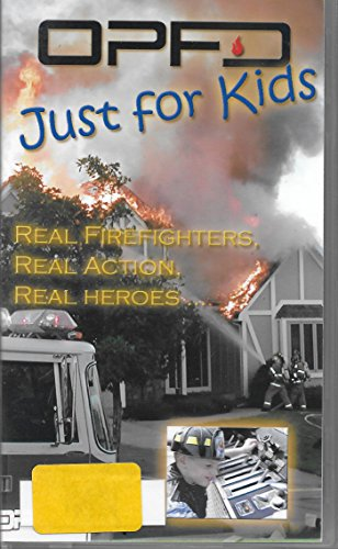 opfd-just-for-kids-real-firefighters-real-action-real-heroes-vhs-video
