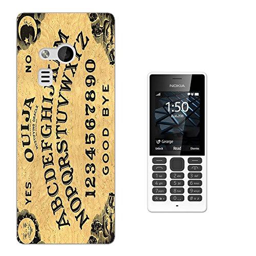 000789 - Ouija Board Print Design Microsoft Nokia 216 CASE Gel Rubber Silicone All Edges Protection Case Cover