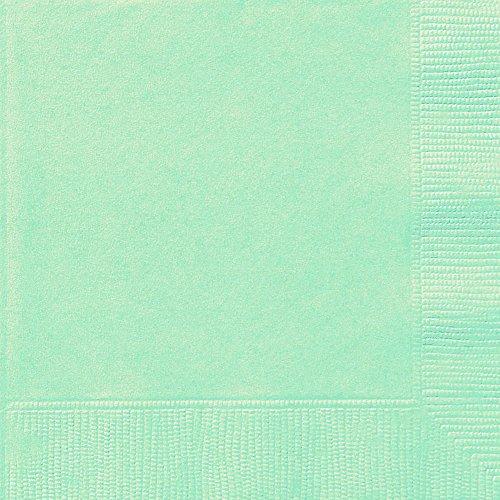 Mint Green Napkins (Mint Paper Napkins, 20ct)