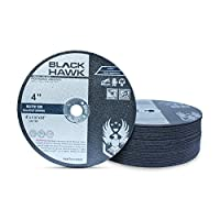 """25 Pack 4"""" x 1/16"""" x 3/8"""" Arbor Metal & Stainless Steel Cut Off Wheels - For Die Grinders"""