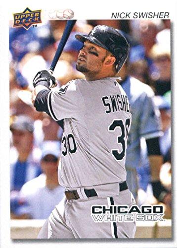 Baseball MLB 2008 Upper Deck Timeline #124 Nick Swisher White -