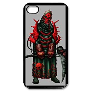 IPhone 4,4S Phone Case for Grim Reaper - Skull pattern design