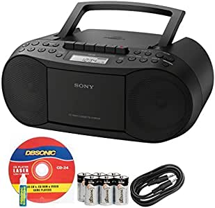 Amazon.com: Sony Compact Portable Stereo Sound System ...