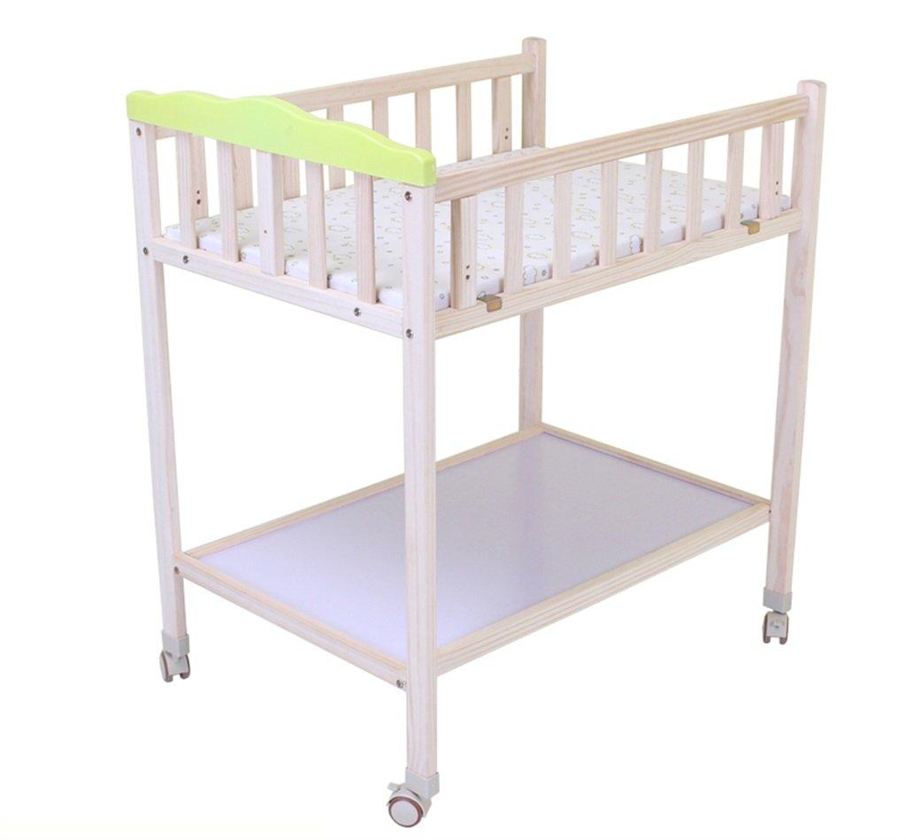 【正規取扱店】 DS- DS- B07PJ65XFL 乳児用フェンス 赤ちゃんのテーブルを変更するウッドマッサージテーブルタッチテーブル4ラウンドリムーバブルシャワースタンド4ギアの調節可能な高さ0~2歳のおむつのおむつテーブル&& B07PJ65XFL, ナオシマチョウ:f3bdec33 --- a0267596.xsph.ru