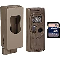 CUDDEBACK 8MP F2 IR Plus 1309 Infrared Game Camera + Security Case & SD Card