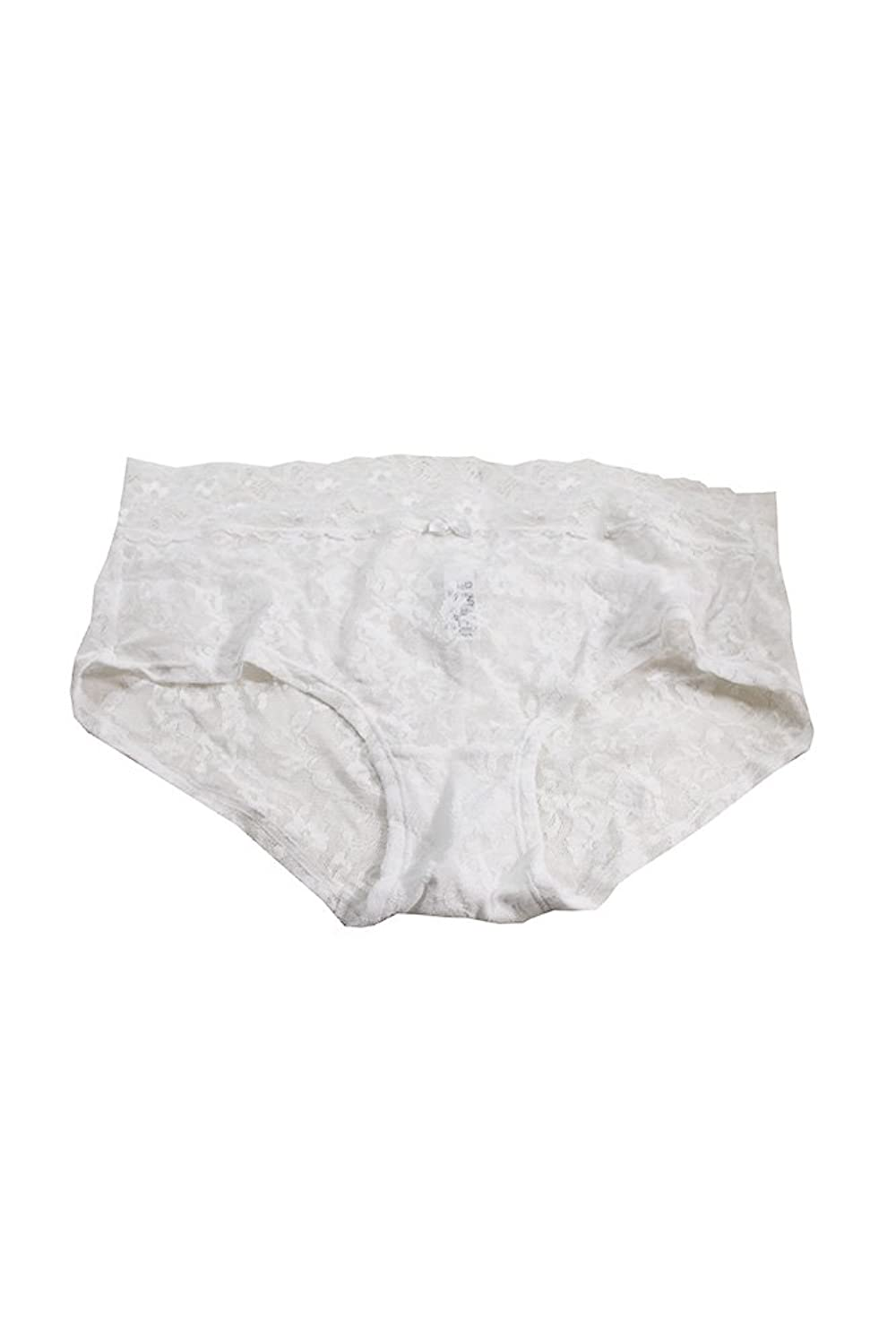 DKNY Signature White Lace Boyshort L