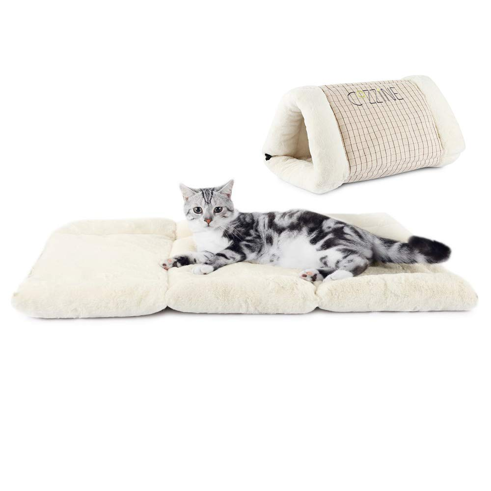 GBlife Portatíl Cojín Extraíble Suave Cama de Gatos Perros Pequeños Casa para Mascotas y Sofá Multifunción