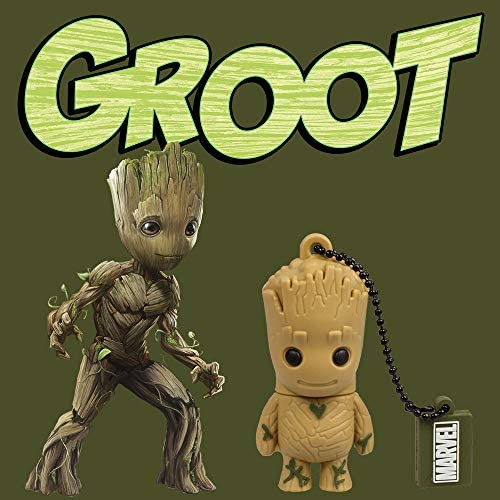Llave USB 32 GB Groot - Memoria Flash Drive 2.0 Original Marvel ...