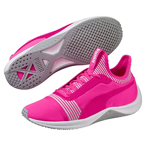 Fitnessschuhe White Knockout Amp puma WN's Pink Puma XT Damen wqaIxpIR