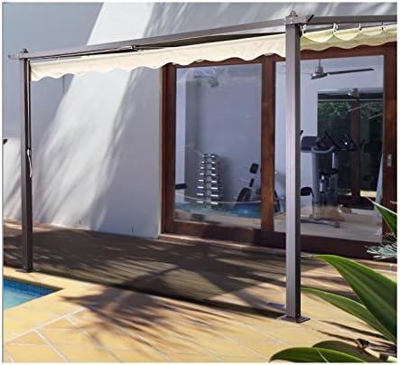 Cenador de pared, 3 x 4 m: Amazon.es: Jardín
