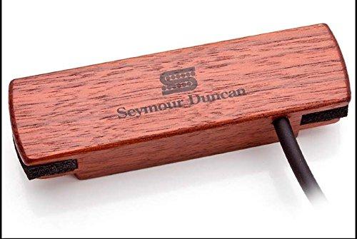 Seymour Duncan SA-3HC Walnut Woody HC Hum-Canceling Acoustic Soundhole Pickup True Tune Tuner Fender Picks Bundle 11500-31-WLN