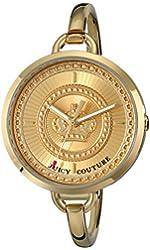 Juicy Couture Women's 1901173 Lolita Analog Display Quartz Gold Watch